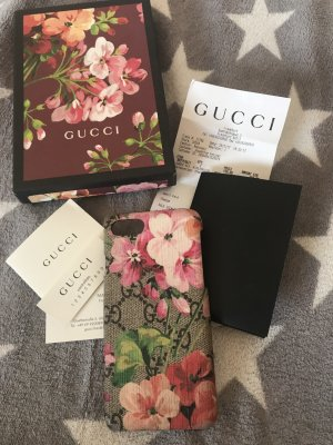 Original Gucci Handyhülle IPhone 7 mit Rechnung Flower