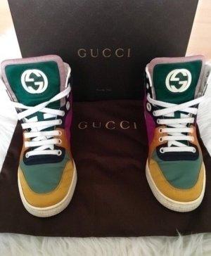 Gucci Sneaker alta multicolore Pelle