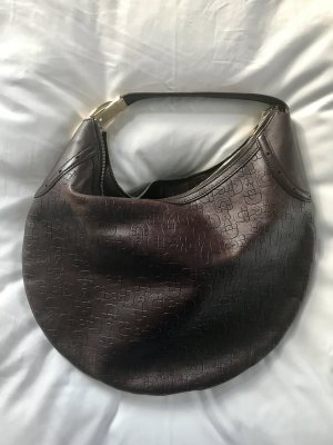 Gucci Shopper brown red-dark brown leather