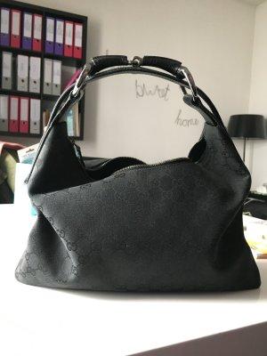 Original Gucci Horsebit Tasche schwarz