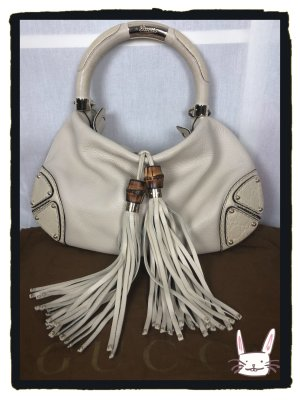 Original Gucci Indy Hobo bag in hellbeige