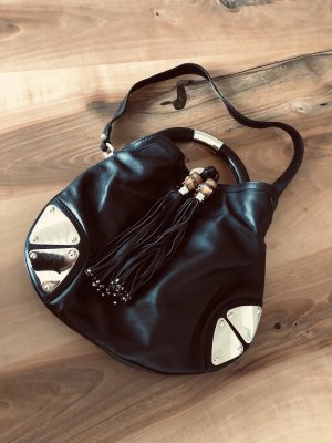 Original Gucci Indy Hobo Bag, schwarz