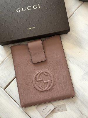 Original Gucci IPad Hülle Leder Farbe Altrosa neu 230€