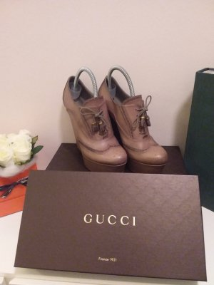 original GUCCI Lace up Booties / Pumps / Ankleboots