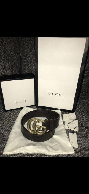 Original Gucci Leder Gürtel 100cm