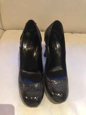 Original Gucci Leder Schuhe
