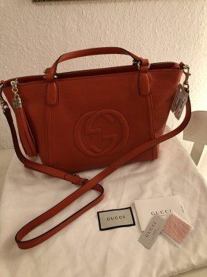 Original Gucci Leder Tasche Borsa  Soho Neu Mit Etikett 1390€