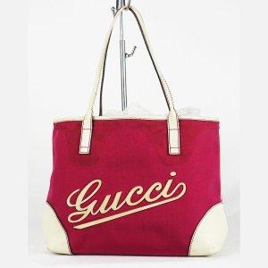 Gucci Borsa a tracolla bianco-magenta