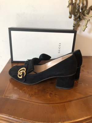 Gucci Loafers black suede