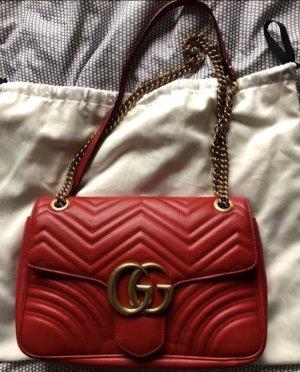 ORIGINAL Gucci Marmont Tasche Rot
