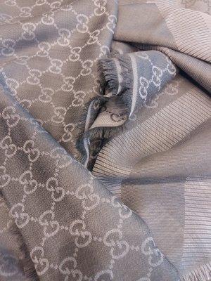 Original GUCCI Neu Schal Tuch aus Seide/Wolle