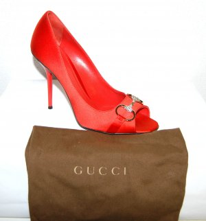 Original GUCCI Peep toe Pumps Gr.40
