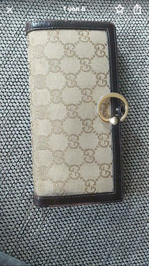 Gucci Wallet brown-light brown