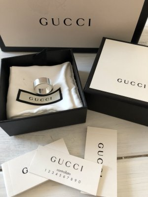 Original Gucci Ring Silber neu mit Box