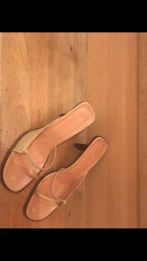 Gucci Dianette sandalen room-licht beige