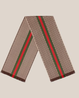Gucci Silk Scarf multicolored wool