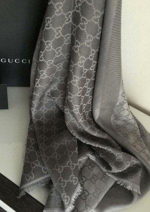 Gucci Écharpe d'été noir-gris