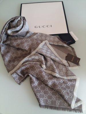 Original GUCCI Schal NEU Wolle/Seide 140x140cm