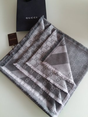 Gucci Scarf grey-dark grey
