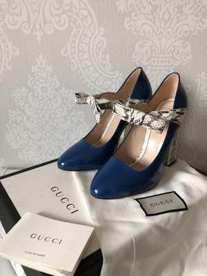 Original Gucci Schuhe in blau