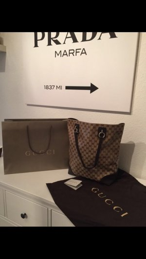 Original Gucci Shopper Tasche