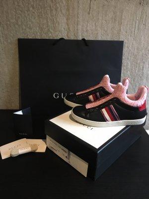 Gucci Slip-on Sneakers black-pink