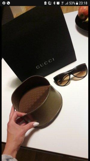 Gucci Lunettes noir-doré
