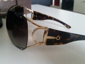 Gucci Zonnebril roodbruin-zandig bruin