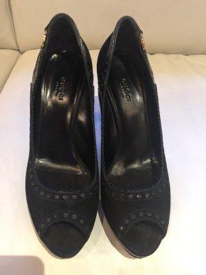 Original Gucci suet Schuhe