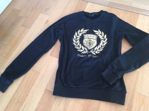 Original Gucci Sweater mit goldenem Aufdruck, S