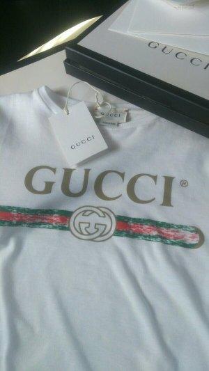 Gucci Haut blanc coton