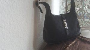 Gucci Handtas zwart-grijs