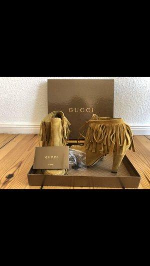 Original Gucci Wildleder Stiefeletten