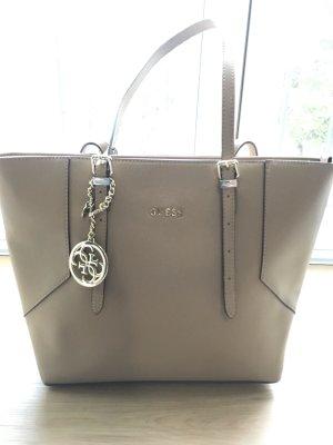 Original Guess Handtasche beige-gold