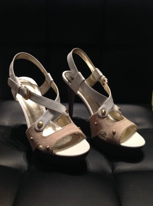 Guess Zapatos blanco-camel