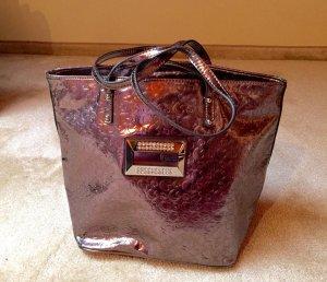 Original Guess Tasche in Silber mit Flipflopeffekt