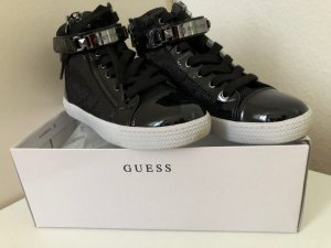 Guess Lace-Up Sneaker black-white