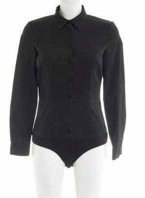 Original Hallhuber Bodybluse Clarissa Gr. 38 Bluse Shape wear Bodyshape schwarz