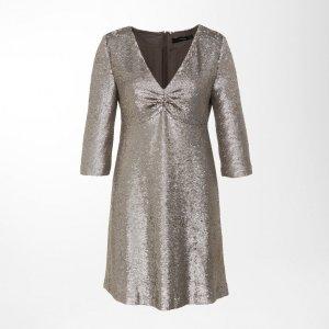 *Original Hallhuber Pailettenkleid Dress / Kleid mit Pailletten Gr. 38 NEU* grau
