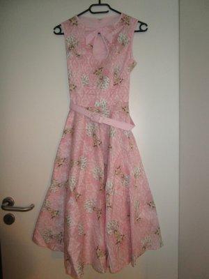 Original Hell Bunny Baumwoll Pin-Up Kleid 50`s 34 /XS Neu