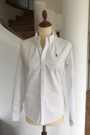 Original Hemdbluse von Ralph Lauren Gr. 10 Slim fit Bluse