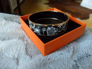 Original Hermes Armreif,schwarz/weiß,Leopard,ausverkauft, mit Rechnungskopie,neuwertig