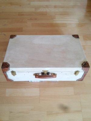 original Hermès Canvas Leder Koffer rar limitiert