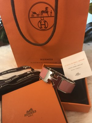 Hermès Bangle rose-gold-coloured-light grey
