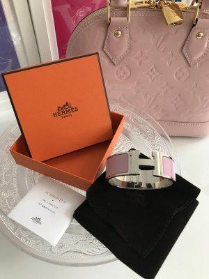 Original Hermès Clic Clac H Armreif rosé Paladium