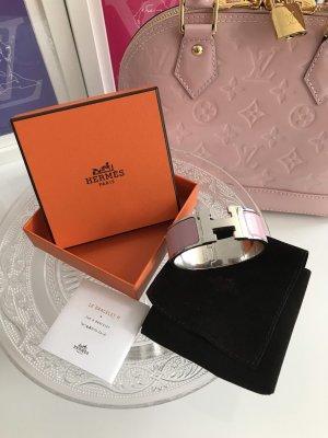 Original Hermès Clic Clac H Armreifen rosa