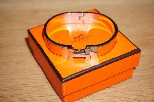 Original Hermes Paris Clic Clac Armband Clic H Armreif silber