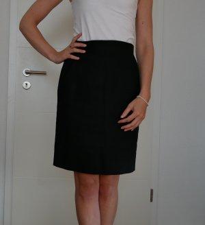 Hermès High Waist Skirt black linen
