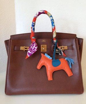Original HERMÉS Tasche Birkin Bag Marone Braun Vachette Leder Handbag Brown Gold