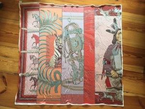 Original Hermes Tuch, 90x90 cm, 100% Seide